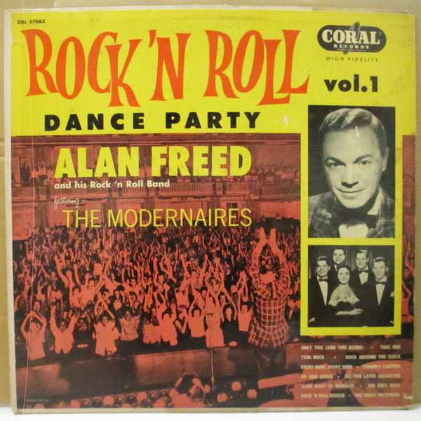 ALAN FREED & HIS R&R BAND  (アラン・フリード)  - Rock'n'Roll Dance Party Vol.1 (US Orig.Mono LP)