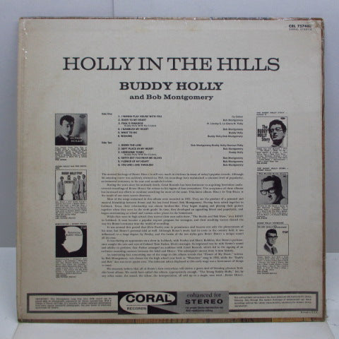BUDDY HOLLY - Holly In The Hills (US Orig.Stereo LP)