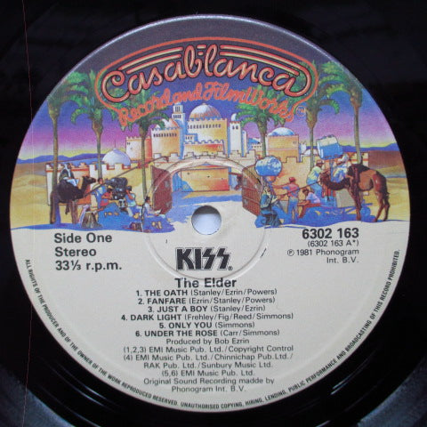 KISS - (Music From) The Elder (UK Orig.LP)