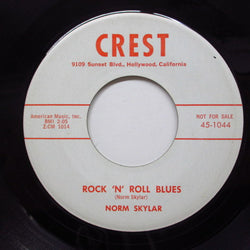 NORM SKYLAR - Rock 'n' Roll Blues (Promo)