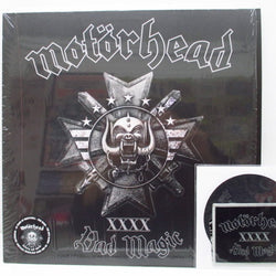 MOTORHEAD - Bad Magic (UK/EU/US Ltd.White Vinyl LP+CD,Patch)
