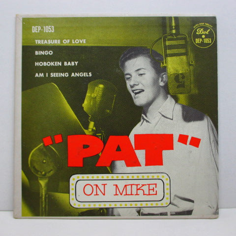 PAT BOONE - On Mike (US Orig.EP)
