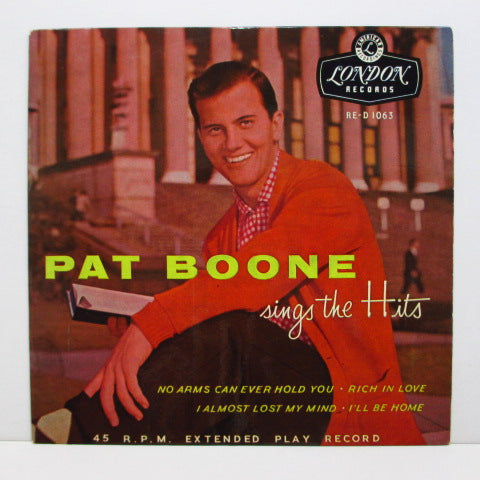 PAT BOONE - Pat Boone SIngs The Hits (UK Orig.EP)