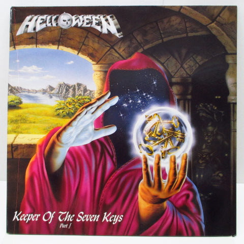 HELLOWEEN (ハロウィン)  - Keeper Of The Seven Keys - Part I (German Ltd.Blue Vinyl LP+Poster/GS)