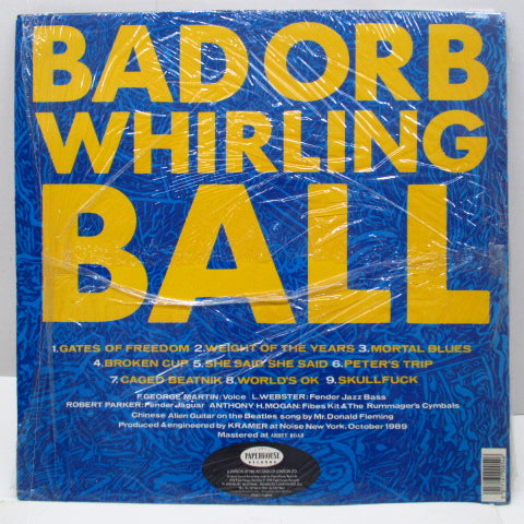 WALKINGSEEDS - Bad Orb Whirling Ball (UK Orig.LP)