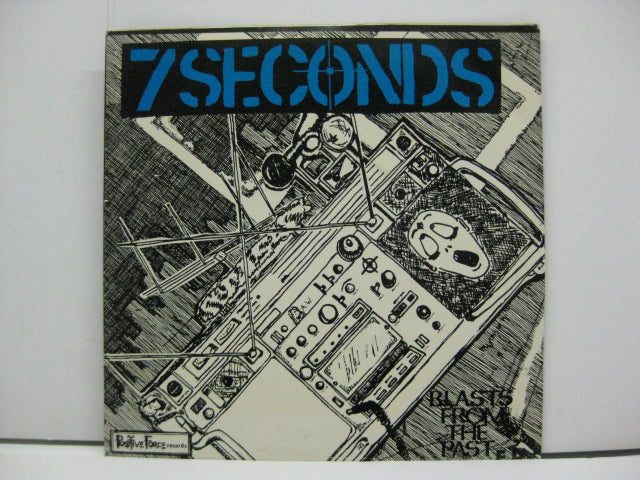 "7 SECONDS - Blasts From The Past E.P. (US 3rd Press 7"")"