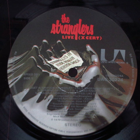 STRANGLERS, THE - Live X Cert (UK Orig.LP/CS)