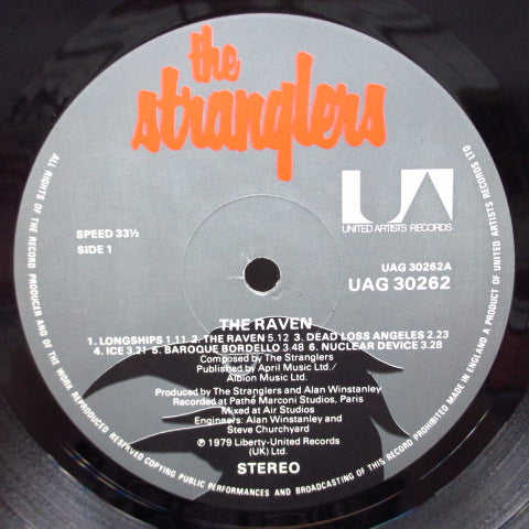 STRANGLERS, THE - The Raven (UK Reissue LP/CS)