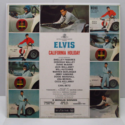 ELVIS PRESLEY - California Holiday (Spinout)※UK Orig/MONO