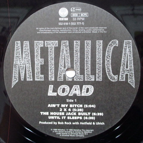 METALLICA - Load (EU Orig.2 x LP)