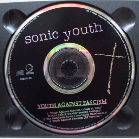 SONIC YOUTH-Youth Against Fascism (UK Orig.CD)