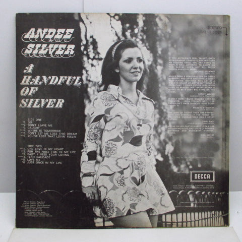 ANDEE SILVER - A Handful Of Silver (UK Orig.Stereo LP/CS)