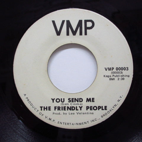 FRIENDLY PEOPLE - You Send Me / Mr.Moonlight