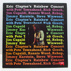 ERIC CLAPTON - Rainbow Concert (UK '83 Re LP/No Barcode)