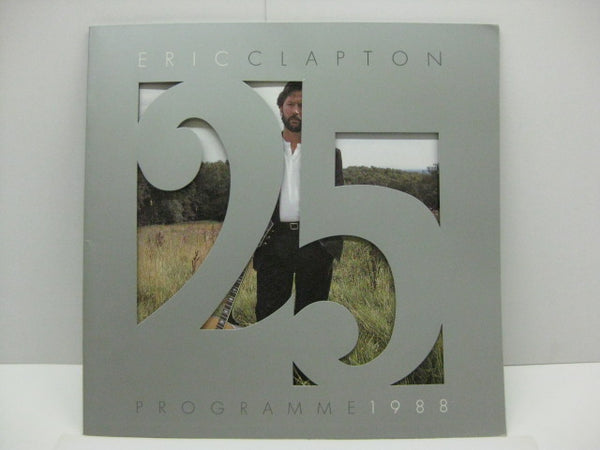 ERIC CLAPTON (エリック・クラプトン)  - 25 Programme 1988(UK Orig.Tour Program Book)