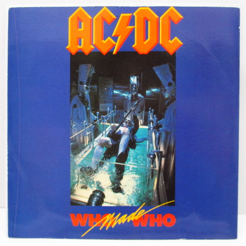 "AC/DC - Who Made Who (UK Orig.7""+PS)"