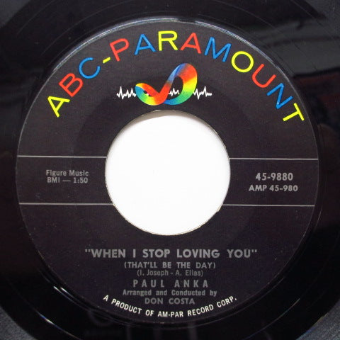PAUL ANKA - You Are My Destiny (US Orig)