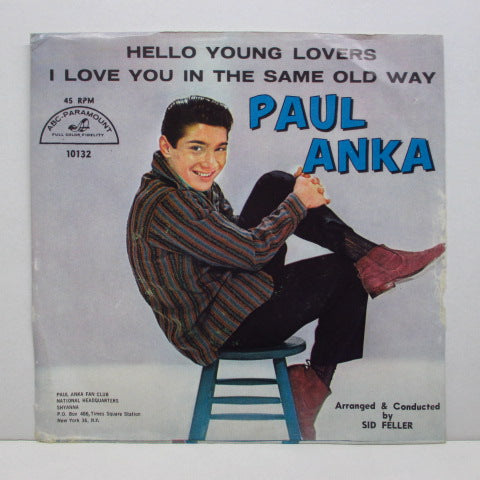 PAUL ANKA - Hello Young Lovers (US Orig+PS)