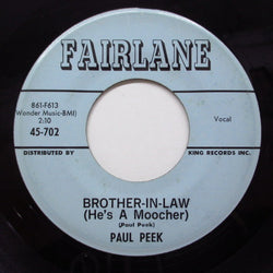 PAUL PEEK - Brother-In-Law (Orig)