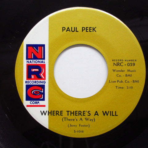PAUL PEEK - I'm A Happy Man (Orig)