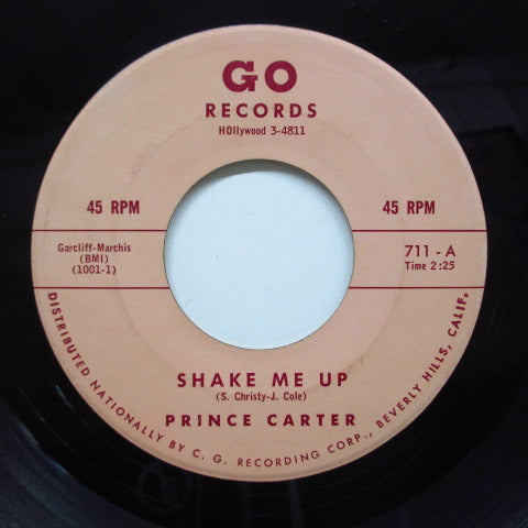 PRINCE CARTER (SONNY BONO) - Shake Me Up (2nd Press)