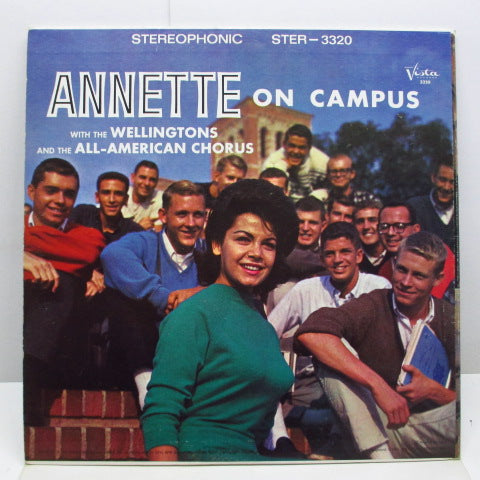 ANNETTE - Annette On Campus (US Org.Stereo LP/GS)