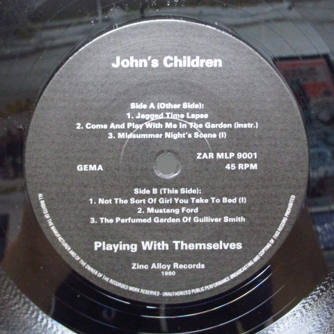 "JOHN'S CHILDREN - Playing With Themselves Vol.1 (German Orig.12"")"