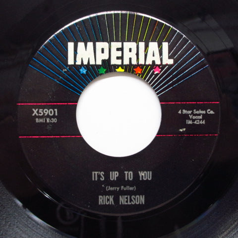RICKY NELSON (RICK NELSON) - It's Up To You (Orig)
