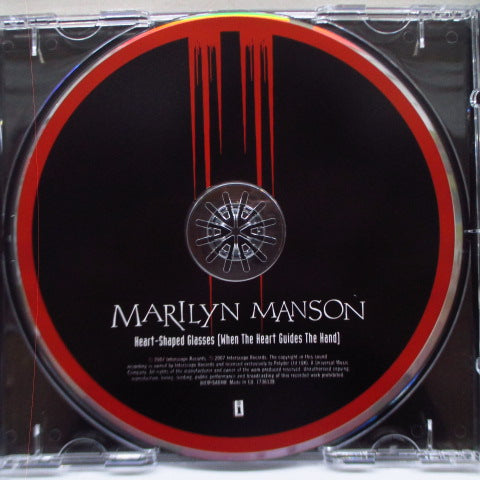 MARILYN MANSON-Heart-Shaped Glasses (UK Ltd.Enhanced CD)
