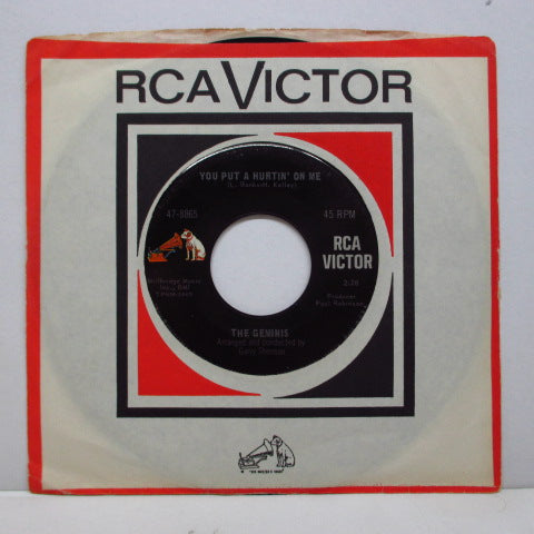 "GEMINIS - You Put A Hurtin' On Me (US Orig).7""+CS"