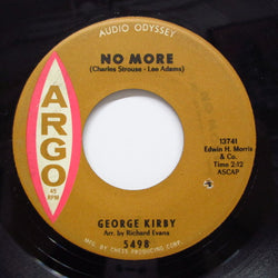 GEORGE KIRBY - No More / Feeling Good