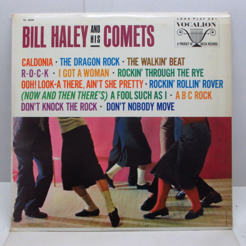 BILL HALEY & HIS COMETS - S.T. (US Orig.Mono LP)