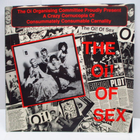 V.A. - The Oi! Of Sex (UK Reissue LP)