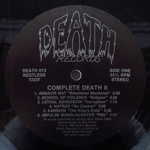 V.A. - Complete Death 2 (US Orig.LP)
