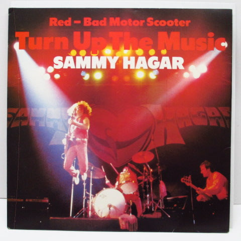 SAMMY HAGAR - Turn Up The Music +2 (UK Promo)