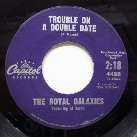 ROYAL GALAXIES feat.AL HAZAN - Trouble On A Double Date (Orig)
