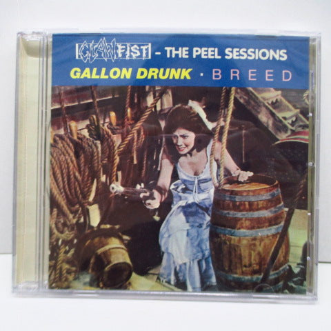 GALLON DRUNK / BREED - Clawfist - The Peel Sessions (UK Orig.CD)