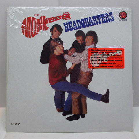 MONKEES - Headquarters (US '96 Re Red Vinyl  Stereo LP)