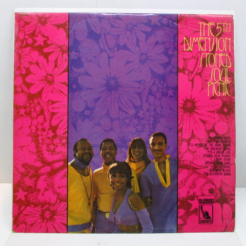 5TH DIMENSION - Stoned Soul Picnic (UK Orig.Stereo LP/CD)