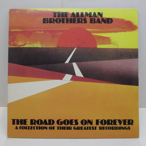 ALLMAN BROTHERS BAND - The Road Goes On Forever (UK Orig.2xLP/GS)