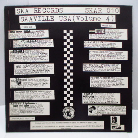 V.A. - Ska-Ville USA Vol.4 (UK Orig.LP)