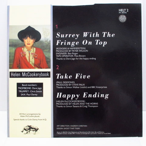 "HELEN & THE HORNS - The Surrey With The Fringe On Top +2 (UK Orig.12"")"