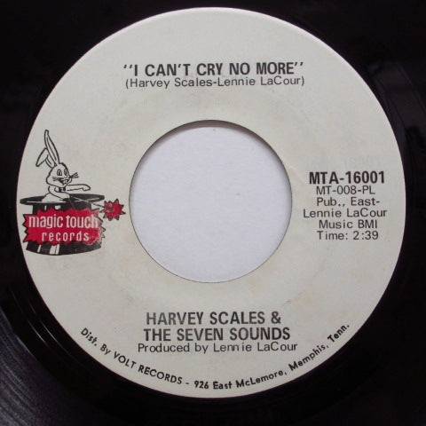 HARVEY SCALES & THE 7 SOUNDS - Broadway Freeze (Orig.Dist.Credit Label)