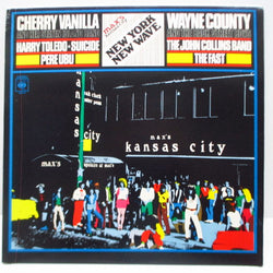 V.A. - Max's Kansas City - New York New Wave (UK Orig.LP)