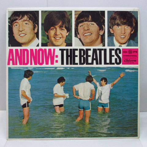 BEATLES - And Now (German Re Record Club LP/Beach CVR 両面CS)