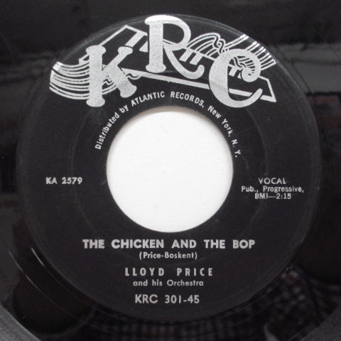LLOYD PRICE - The Chicken And The Bop (Orig)