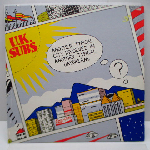 "U.K. SUBS (U.K. サブス)  - Another Typical City Involved In Another Typical Daydream (UK Orig.12"")"