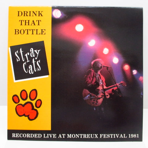 STRAY CATS - Drink That Bottle (Italy Reissue.LP)