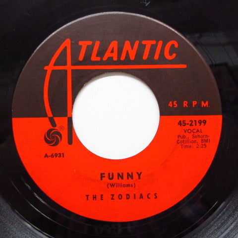 ZODIACS (MAURICE WILLIAMS & THE) - Funny / Loneliness (Orig)