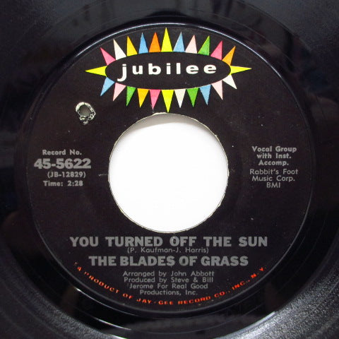 BLADES OF GRASS - The Way You'll Never Be (Orig)